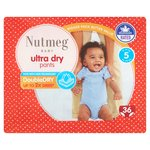 Nutmeg Ultra Dry Pants Size 5