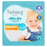 Nutmeg Ultra Dry Nappies Size 5+