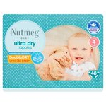 Nutmeg Ultra Dry Nappies Size 4