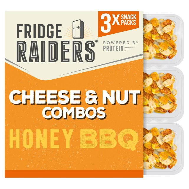 Fridge Raiders Combos Honey Bbq 3 X Packs