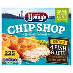 Young's Chip Shop Omega 3 Fish Fillets