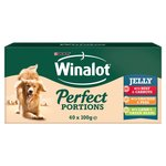Winalot Perfect Portions Jelly With Chicken, Beef & Lamb