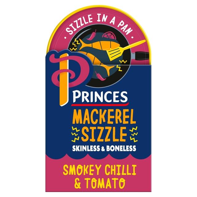 Princes Mackerel Sizzle Smokey Chilli And Tomato