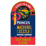 Princes Mackerel Sizzle Tomato & Herb
