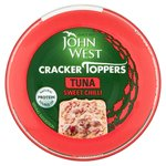 John West Cracker Toppers Tuna Sweet Chilli
