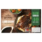 Morrisons Slow Cooked Mint Gravy Lamb Shank