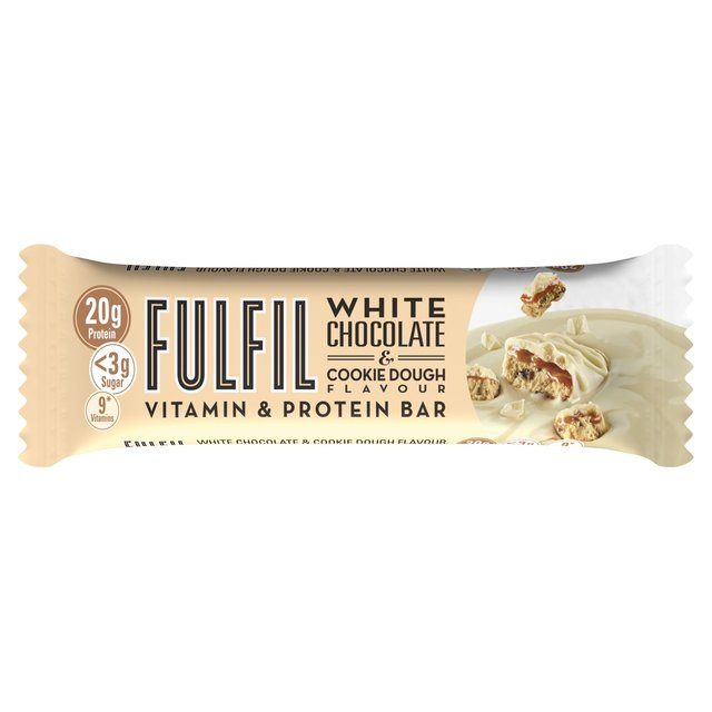 Fulfil White Chocolate & Cookie Dough Vitamin & Protein Bar