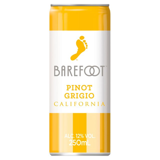 Barefoot Can Pinot Grigio