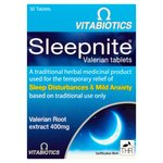 Vitabiotics Sleepnite Valerian Tablets