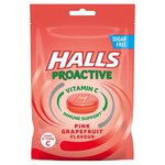 Halls Proactive Pink Grapefruit