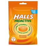 Halls Proactive Vitamin C Orange Flavour