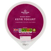 Morrisons Mixed Berry Kefir Yogurt