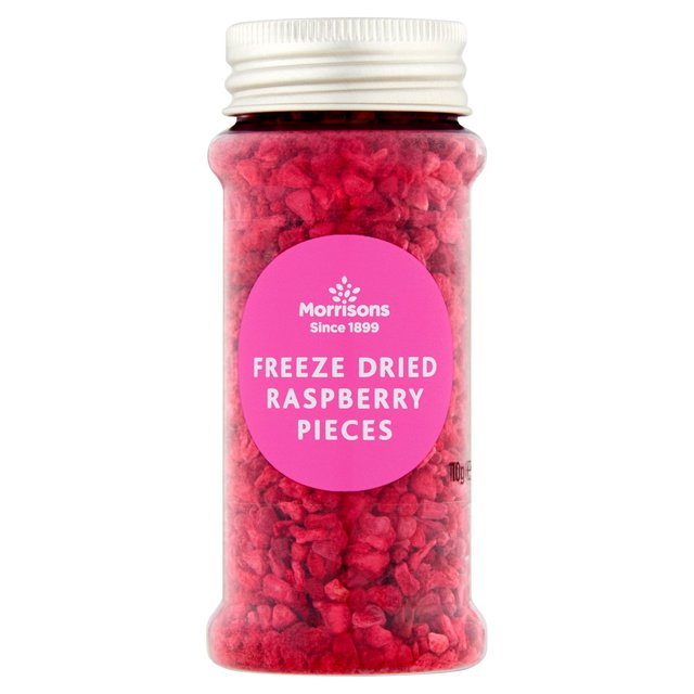 Morrisons Freeze Dried Raspberry Pieces