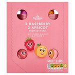 Morrisons 2 Raspberry 2 Apricot Fromage Frais