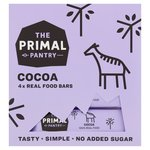 The Primal Pantry Cocoa 4 X Real Food Bars