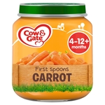 Cow & Gate First Spoons Carrot From 4 - 12M Onwards