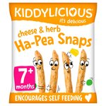 Kiddylicious Cheese & Herb Ha - Pea Snaps