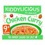 Kiddylicious Little Bistro Chicken Curry