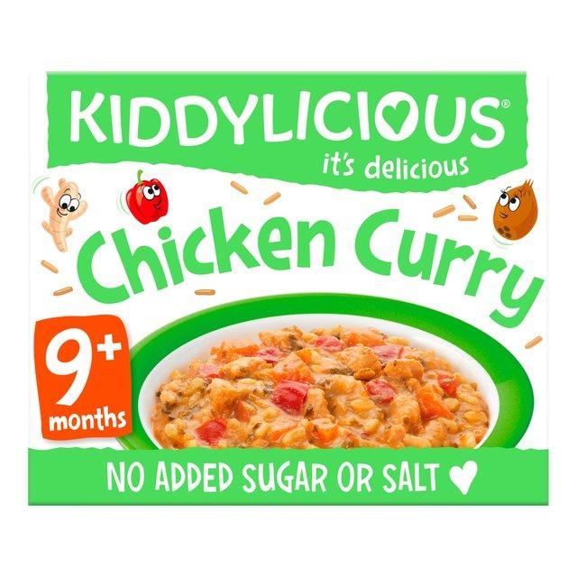 Kiddylicious Little Bistro Chicken Curry