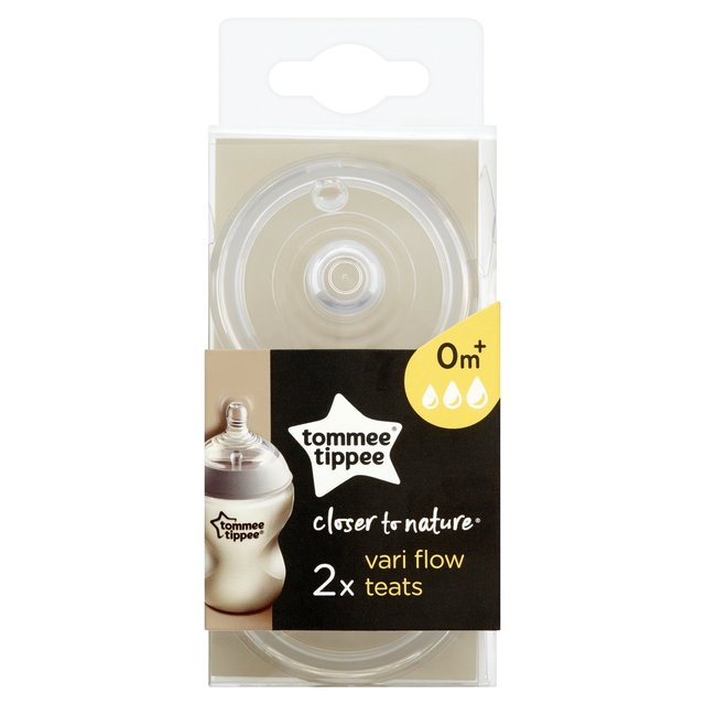 Tommee Tippee Closer To Nature 0+ Months Vari Flow Teats