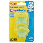 Nuby Chewbies 2 Soothing Teethers 3M+