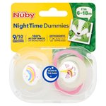 Nuby 2 Uber Dummy Night 6 - 18M