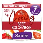 Piccolo Organic Cooking Stir-In Pasta Sauce Beef Bolognese 7 Months+