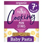 Piccolo Organic Cooking Mini Stars Baby Pasta 7+ Months