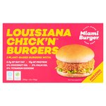 Miami Burger Louisiana Chick'n Burgers