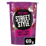 Pot Noodle Asian Street Style Thai Red Curry