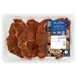 Morrisons Tortilla Roast Pepper & Tomato Pork Shoulder Steaks