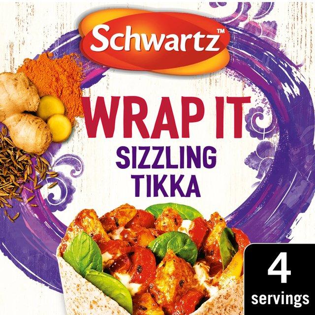 Schwartz Wrap It Sizzling Tikka