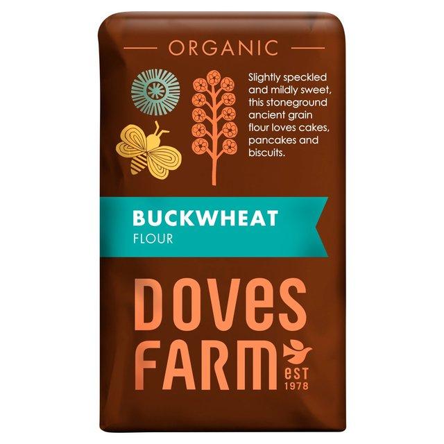 Doves Farm Organic Wholemeal Buckwheat Flour