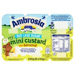 Ambrosia Light Banana Flavour Custard