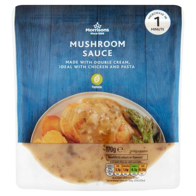 Morrisons Mushroom Sauce