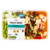 Morrisons Fresh Ideas Red Thai Vegetable Curry