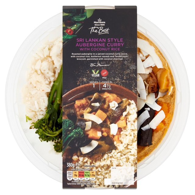 Morrisons Morrisons The Best Sri Lankan Aubergine Curry