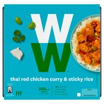 Weight Watchers Red Thai Chicken Curry With Sticky Jasmine Rice