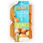 Morrisons Made To Share Smokey Bean Chimichangas