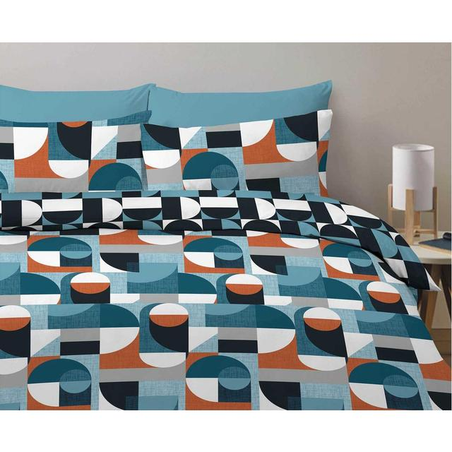 Morrisons Morrisons Bold Geo Duvet Cover Amp Pillowcases