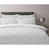 Morrisons Deco Tile Duvet Set