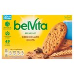 Belvita Choc Chip Reduced Sugar Biscuits