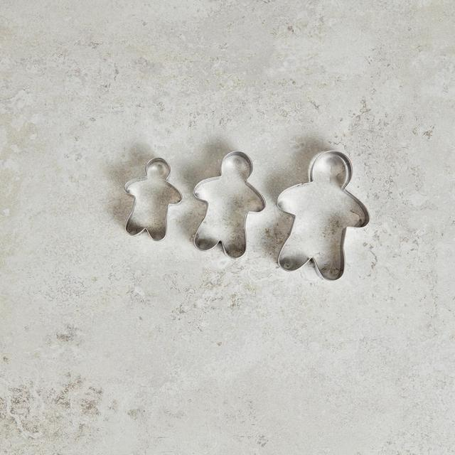 Morrisons Stainless Steel Gingerbread Cutters
