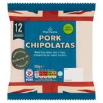 Morrisons 12 Butchers Style Pork Chipolatas