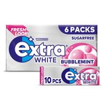 Wrigley's Extra White Bubblemint 6 Packs
