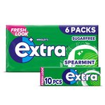 Wrigley's Extra Spearmint 6 Packs