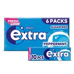 Wrigley's Extra Peppermint 6 Packs