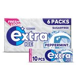 Wrigley's Extra Ice Peppermint 6 Packs