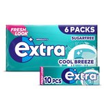 Wrigley's Extra Cool Breeze 6 Packs