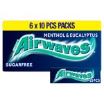 Wrigley's Airwaves Menthol & Eucalyptus 6 Packs